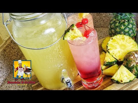 Cherry Pineapple Lemonade | Summertime Drink Recipe