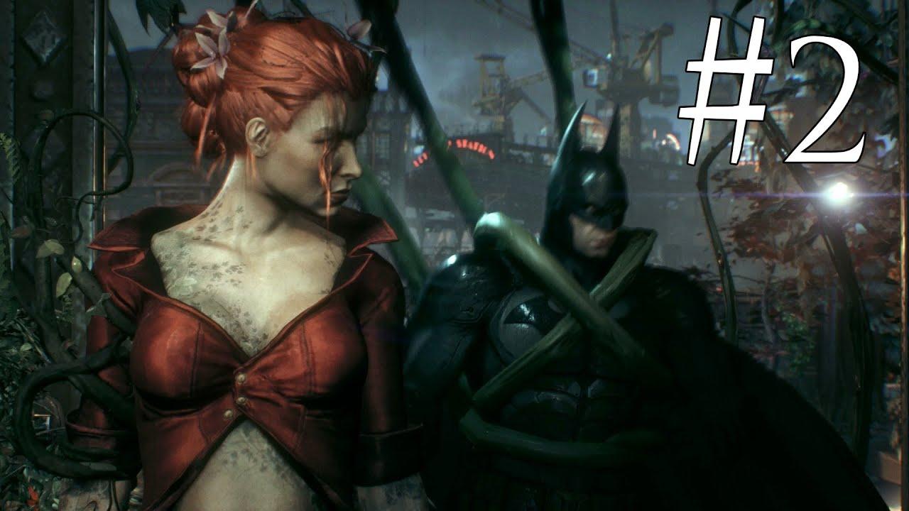 Batman Arkham Knight Walkthrough (PS4) Part 24 Poison Ivy