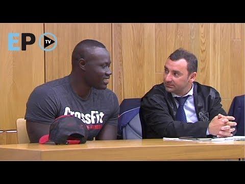 Tensión en el arranque del juicio contra Ibrahima