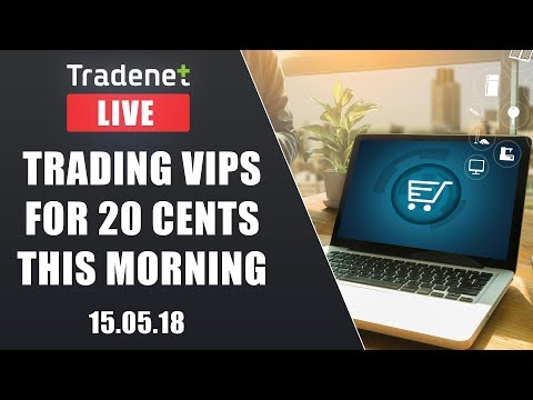 Live Day Trading room - Trading VIPS for 20 cents this morning