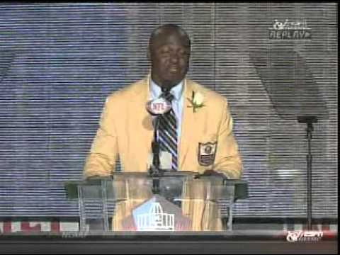 Marshall Faulk Hall of Fame Speech