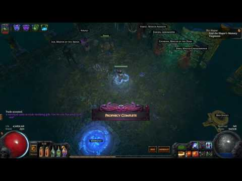 Path Of Exile The Mysterious gift #20 ilvl82 - GogetaSuperx - YouTube
