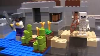 Lego Minecraft Desert Outpost Teaser - Brick Boys Lego Show