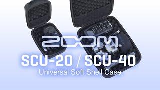 ZOOM SCU-20 / SCU-40 Universal Soft Shell Case