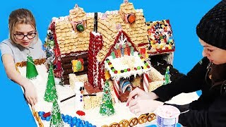 Family Size Gingerbread House Worth $1,000,000