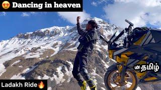 Dancing in heaven | Episode   17 | Ladakh Ride | Snow Ride | Tamil | Sarchu |   degree climate |