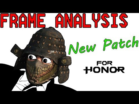 [For Honor] New Input Delay System - Frame Analysis