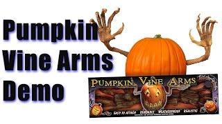 Pumpkin Vine Arms Demo - My Favorite Jack O