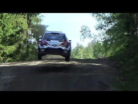 Esapekka Lappi and Toyota Yaris wrc development test