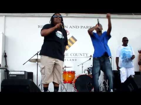 "LIVE!!! @ Bmore MD Summer Music Fest: The Movement Show ""Bring It Back"" Performance"