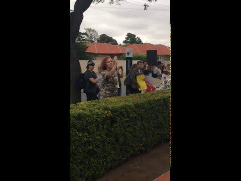 Retarded Protesters at Milo's Event in Adelaide
