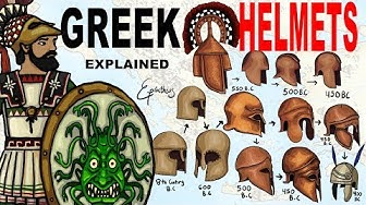 Ancient Greek Helmets Explained in 5 minutes
