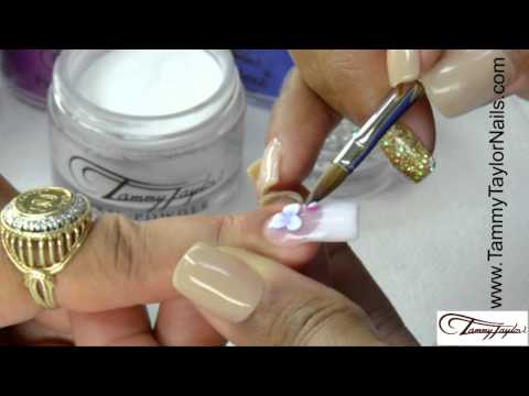 ♡ Tammy Taylor - How to: 3D Bonaire Flowers Nail Design
