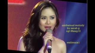 Unchained melody by sarah geronimo (offcam) sgl 26aug12