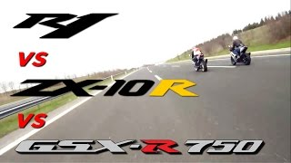 +300km/h Four Extreme Super Bikes +2min TOP SPEED