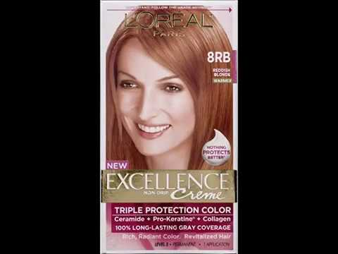 L Oreal Excellence Creme 8rb Medium Reddish Blonde Warmer 1 Each Pack Of 4