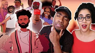 Childish Gambino - Feels Like Summer | REACTION VIDEO 🔥 | (THE MEANING BEHIND THE VIDEO)
