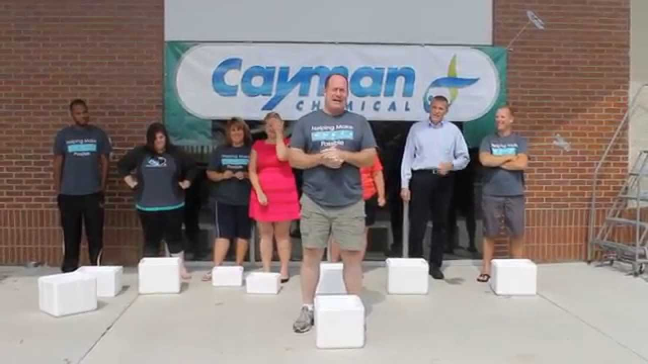 Cayman Chemical's ALS Ice Bucket Challenge - YouTube