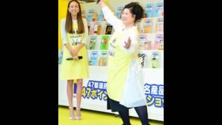モデルの道端アンジェリカと女優のあき竹城が10日、東京・新宿で行わ...