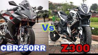 CBR250RR có phải là đối của Z300 không? |  Is CBR250RR a competitor of the Z300?