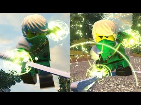 LEGO DC Super Villains - How To Make Lloyd From NINJAGO