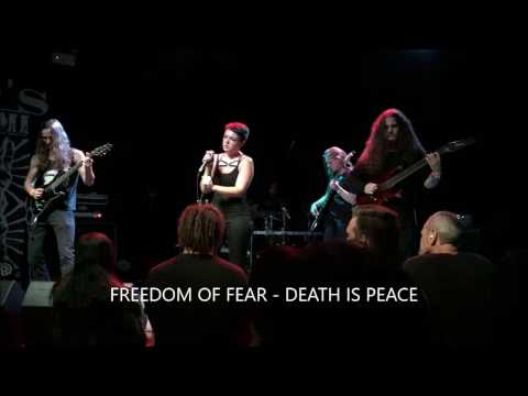 FREEDOM OF FEAR - Death is Peace [Live] Heavy SA 2017