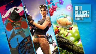 Pyre, Fortnite, Hey Pikmin - New Releases