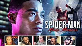 Reactors Reaction To Marvel's Spider-Man: Miles Morales Announcement For The PS5 | Mixed Reactions
