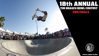 TIM BRAUCH BOWL CONTEST - PRO FINALS  2016