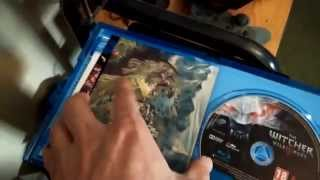 The Witcher 3 Wild Hunt PS4 Unboxing Bonus Content 1080p HD AMAZING