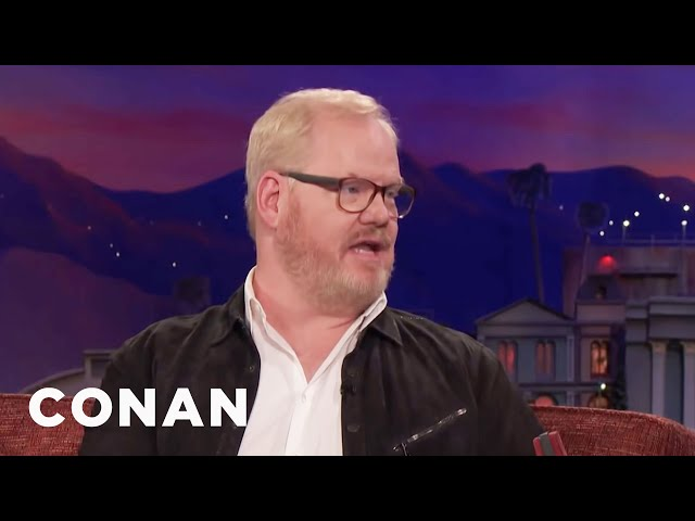 Jim Gaffigan Was Almost Eaten By A Bear  - CONAN on TBS