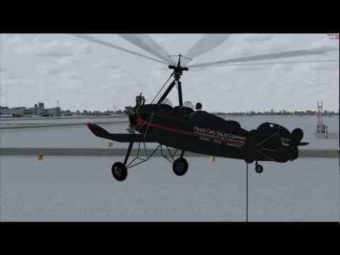 Pitcairn Autogyro Magic!