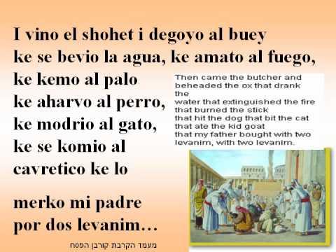 Had Gadia en ladino