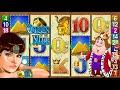 BIG WIN 🌟 Queen of the Nile 👸 POKIES 🎰 Slot Machine Aristocrat Casino FREE SPINS Retriggered $20