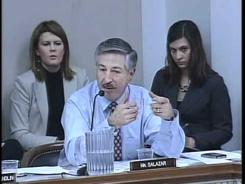 "March 19th, 2009: Select Committee Hearing, ""Constructing a Green Transportation Policy"""