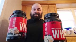 MTS Whey Protein Review (PB Cookies & Cream; American Apple Pie)