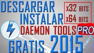 Descargar e Instalar Daemon Tools pro 2015 Full y en Español con Crack