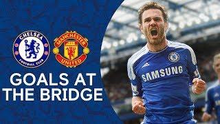 Best Goals v Manchester United At The Bridge  Zola Magic Mata Magnificence  Chelsea Tops