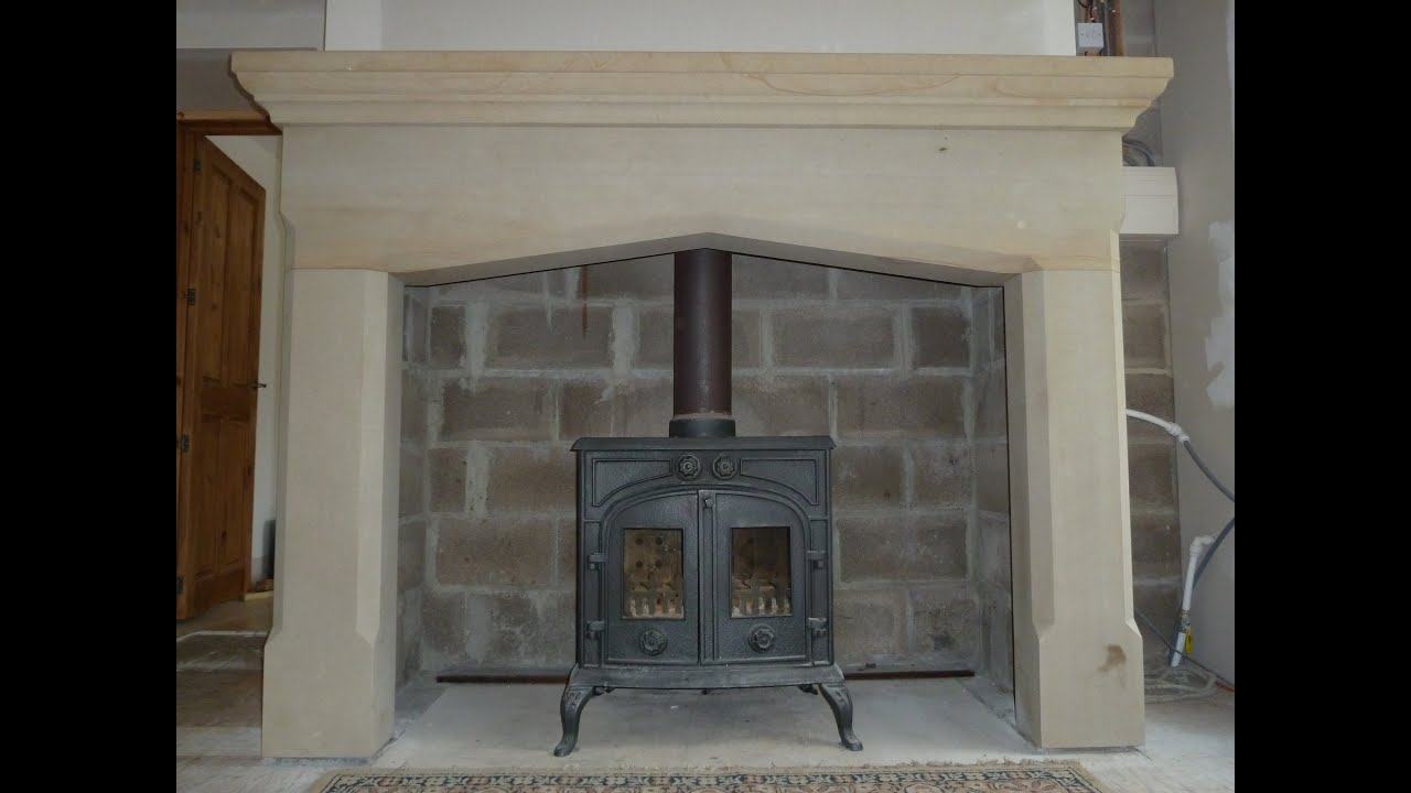 Sandstone Fireplace moving and installing 1 tonne (1000kg) of sandstone fireplace