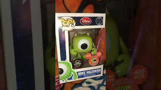 Funko pop glow chase d23 mike wazowski 480 pieces in the world RARE