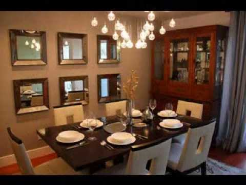 art deco dining room design decorating ideas - youtube