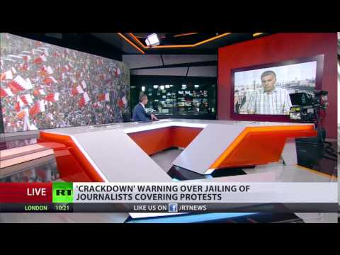 Nabeel Rajab interview with Russia Today