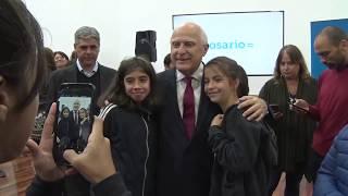 Lifschitz inauguró en Rosario el SUM del Distrito Oeste