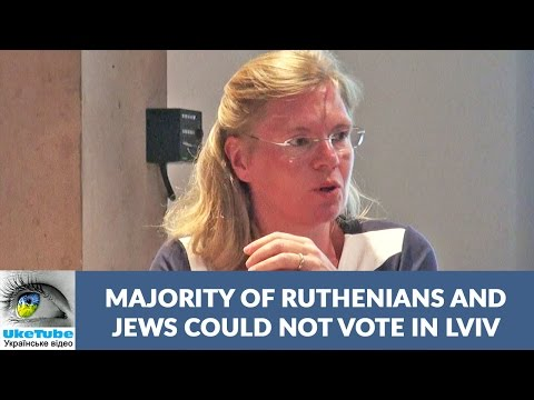 Majority of Ruthenians and Jews could not vote in Lviv, Ukraine prior to WW1 - Preview