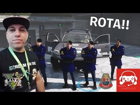 GTA 5 ROLEPLAY - EQUIPE DE ROTA A DISPOSIÇÃO DO CIDADÃO DE BEM (BR OUSADOS RP)