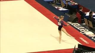 Viktoria Karpenko (BUL) Floor Team Qualifications 2006 Aarhus World Championships