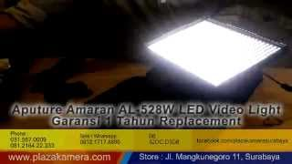 Jual Lampu Video Shooting Aputure Amaran Al 528 W Continuous Wide Spot Lighting