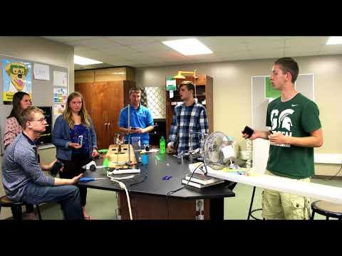 Laker High School Rube Goldberg movie 2018