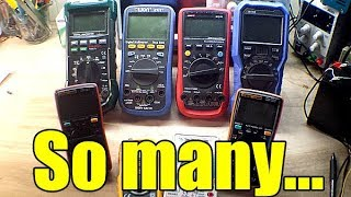 How to choose a multimeter for electronics use