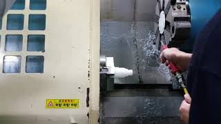 CNC 선반 가공 실습…